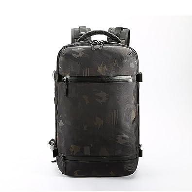 6999c3744b0 Amazon.com  Backpack Men travel pack Bag Male Luggage Backpack Large  Capacity Multifunctional Waterproof laptop backpack Women aer bag