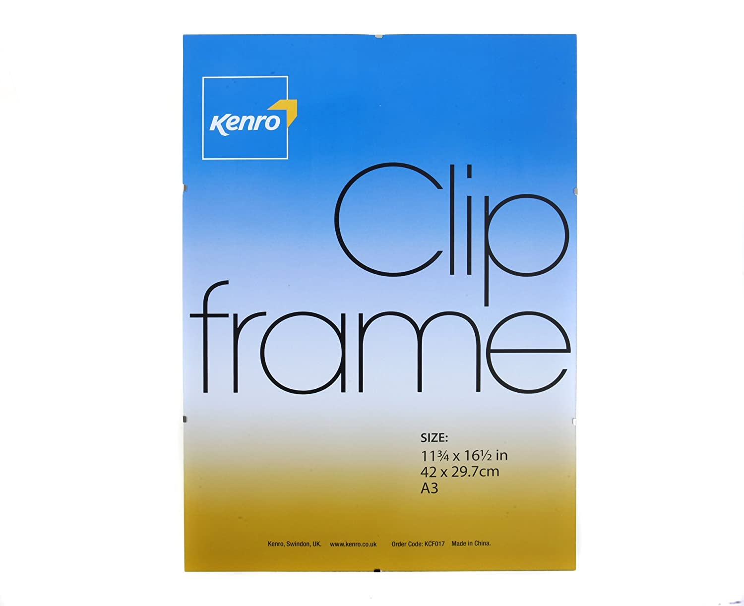 Amazon.com: Kenro Clip Frame A3: Office Products
