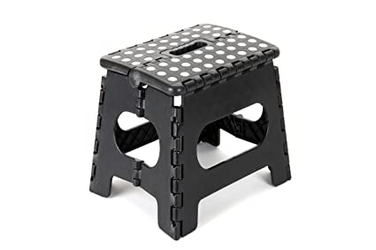 amazon com epica folding step stool ideal for kids and adults non