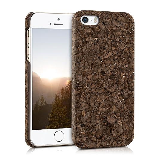 8 opinioni per kwmobile Cover in sughero per Apple iPhone SE / 5 / 5S- Cover per cellulare Case