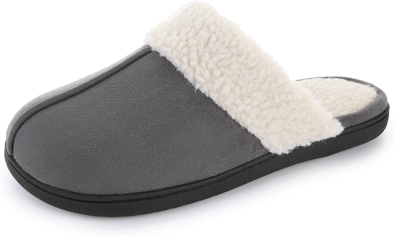 RockDove Men's Highland Scuff Slipper with Memory Foam