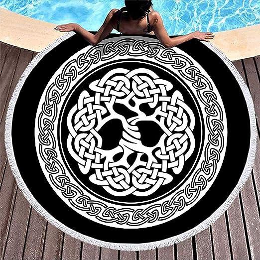 Leo-Shop Tótem Nudo del árbol de la Vida de Yggdrasil Tatuaje de ...