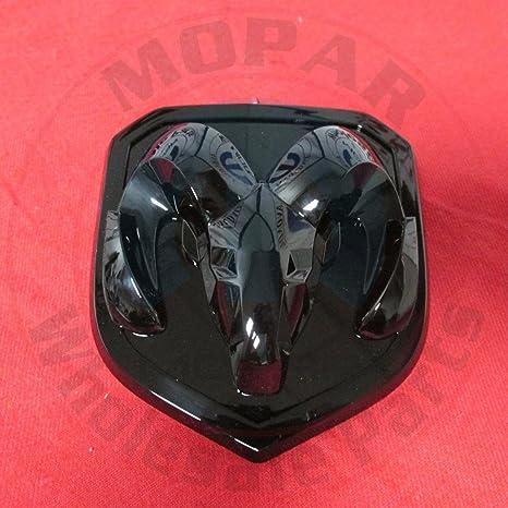 Amazon Black Dodge Ram 1500 2500 3500 Front Ram Head Emblem