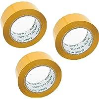3 Rollen Pakketplakband Transparant, 100 m Lang en 48 mm Breed, Ideaal als Plakband, Pakketband, Verpakkingsmateriaal…
