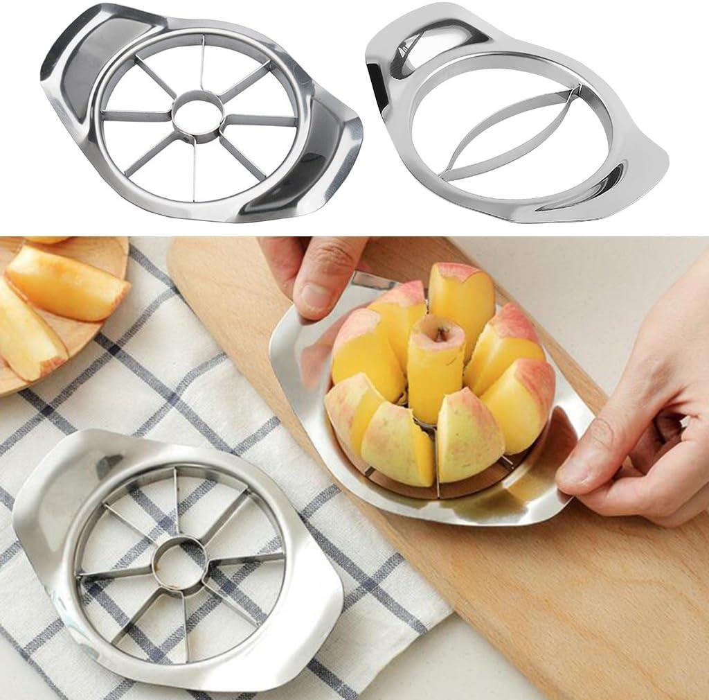 VANKOA Multifunktion Mangoschneider Mangoteiler Apfelteiler Obstschneider Obstteiler Mango Cutter, Küchenhelfer - Mango Slicer Apfel Slicer