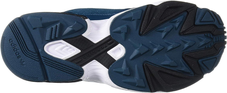 adidas Originals Damen Falcon W Niedrig Tech Mineral Core Black Ftwr Weiß