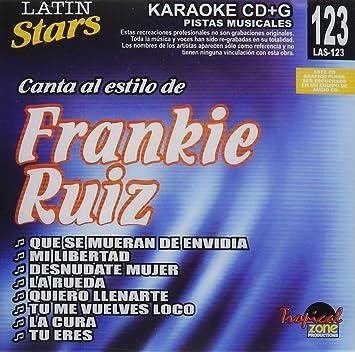 Frankie Ruiz - Karaoke: Frankie Ruiz 1 - Latin Stars Karaoke - Amazon.com Music