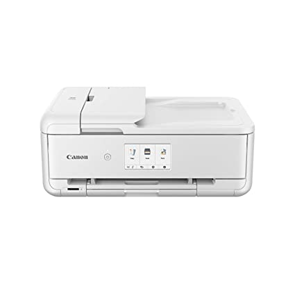 Canon Pixma TS9551C - Impresora multifunción, 4800 x 1200 PPP, LCD de 10.8 cm, Blanco