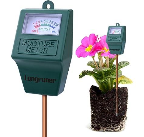 Medidor de Humedad del Suelo,Monitor de Agua del Suelo,Hidrómetro para Jardín,