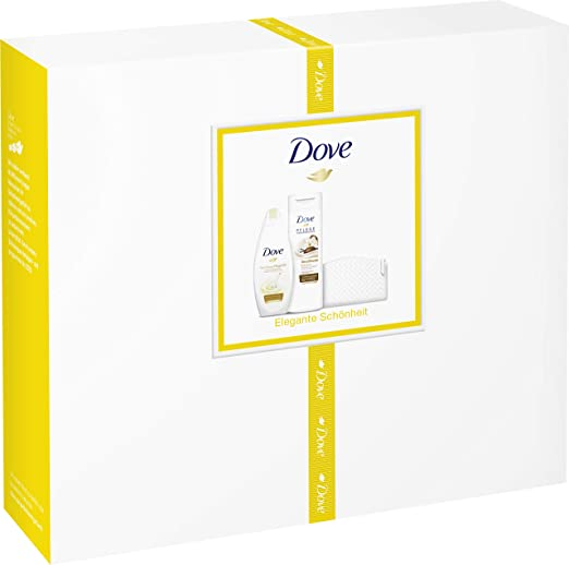 Dove 2 Pack de regalo con estuche para dama (Cuidado & aceite ...