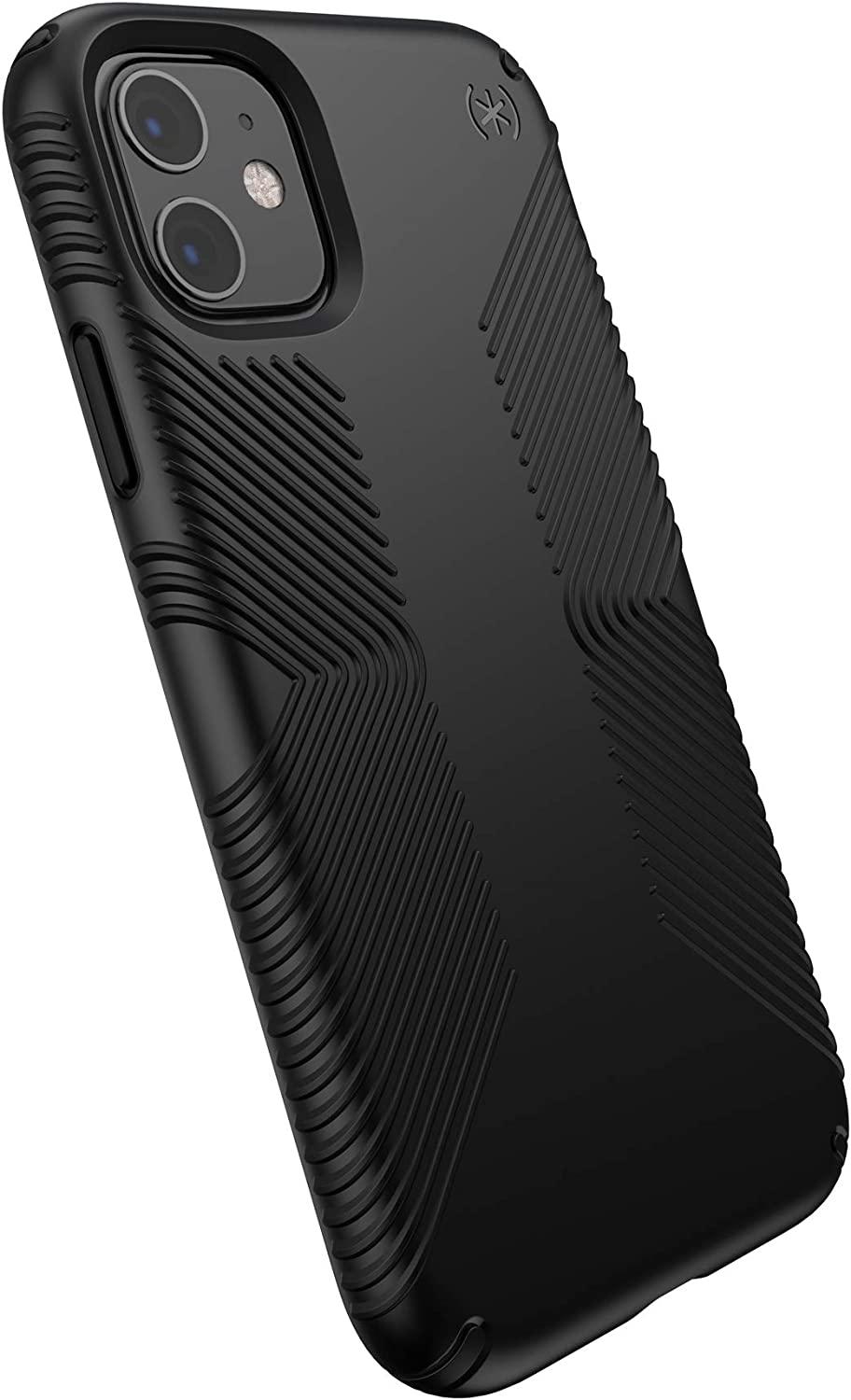 Speck Products Presidio Grip iPhone 11 Case, Black/Black
