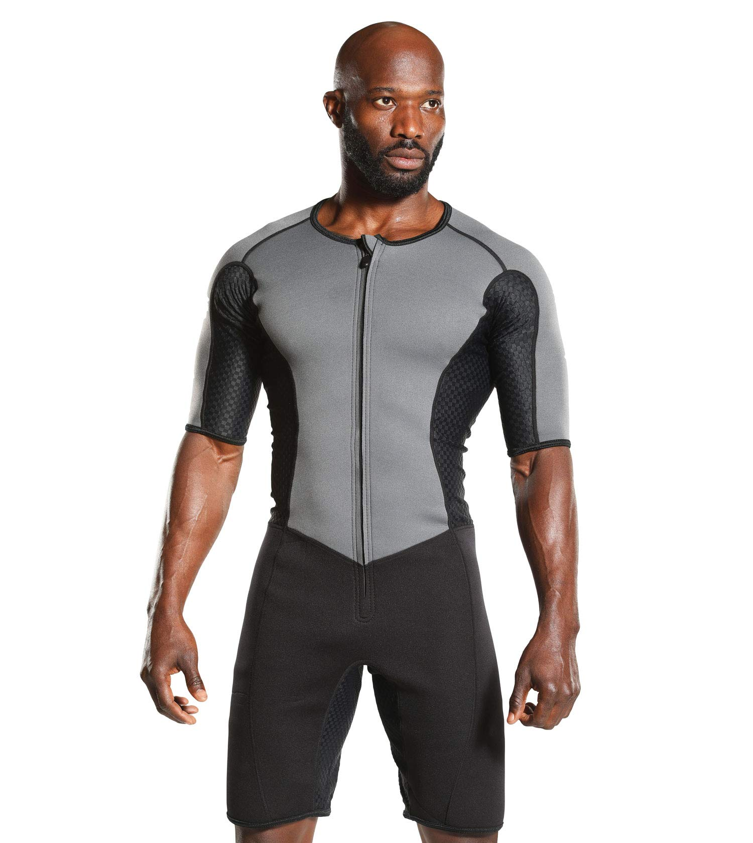 Kutting Weight Sauna Suit - Body Toning Clothing - Fat Burner Short Sleeve Sauna Suit by Kutting Weight