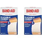 Band-Aid Brand Flexible Fabric Adhesive Bandages, Extra Large csPmSS, 2Pack (20 Count)
