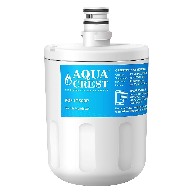 AQUACREST LT500P Filtro de agua del refrigerador, compatible con ...