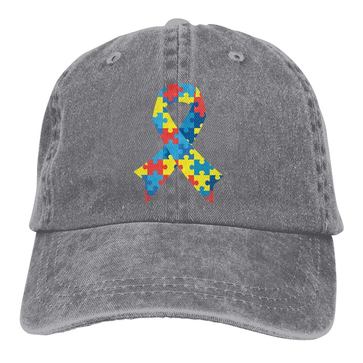 KLing Baseball Hat for Unisex, Autism Awareness Fashion Cotton