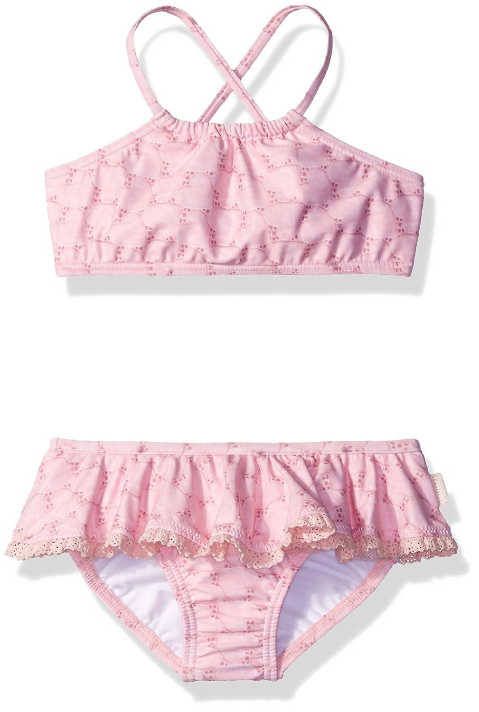 Seafolly Baby Girls' Little Swan Lake Tankini 26185T