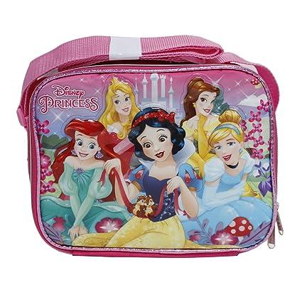 de81697e0dbf Disney Princess Pink Snow White, Ariel & Cinderella Insulated Lunch Box