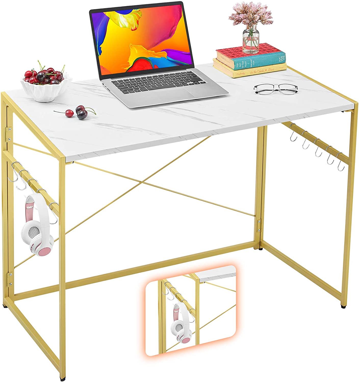 "Mr IRONSTONE 31.5"" Folding Computer Desk"