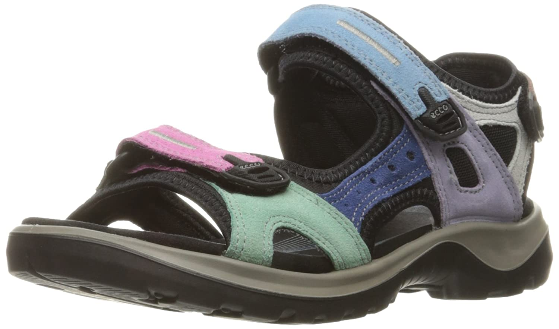ECCO Women's Yucatan Sandal B01EKMMG50 41 EU / 10-10.5 M US|Multicolor Pastel