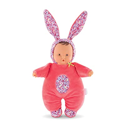Corolle Mon Doudou Babibunny 2-in-1 Musical Baby Doll & Nightlight, Floral Bloom: Toys & Games