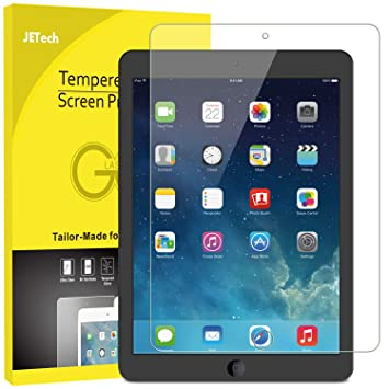 JETech Screen Protector for Apple iPad (9 7-inch, 2018/2017 Model), iPad  Air 1, iPad Air 2, iPad Pro 9 7-Inch, Tempered Glass Film