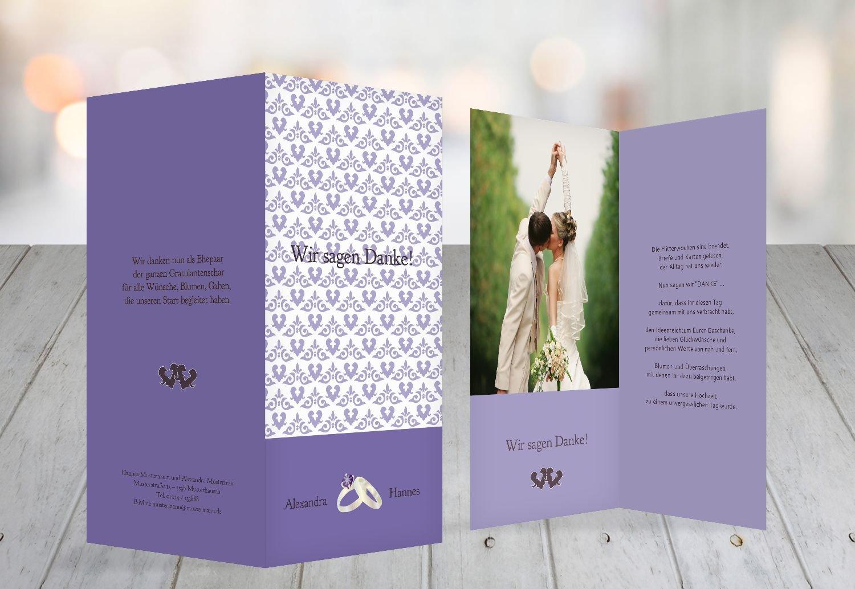 Kartenparadies Danksagung für Hochzeitsgeschenke Hochzeit Hochzeit Hochzeit Danke Ornament mit Herz, hochwertige Danksagungskarte Hochzeitsglückwünsche inklusive Umschläge   10 Karten - (Format  105x215 mm) Farbe  TürkisGrauMatt B01N36GUYU | Zahlre 135d3c