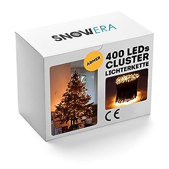 Snowera 400er Led Galaxy Lichterkette Weihnachtslichterkette Für