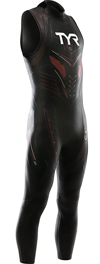 280599e983ffa Amazon.com  TYR Sport Men s Hurricane Sleeveless Wetsuit Category 5 ...