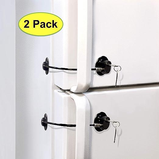 ToolsGold - Bloqueo para puerta de refrigerador, bloqueo de ...