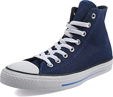 Converse Unisexe Chuck Taylor All Star Hi Chaussures, 46.5, Laser Blue/Almost Black/White