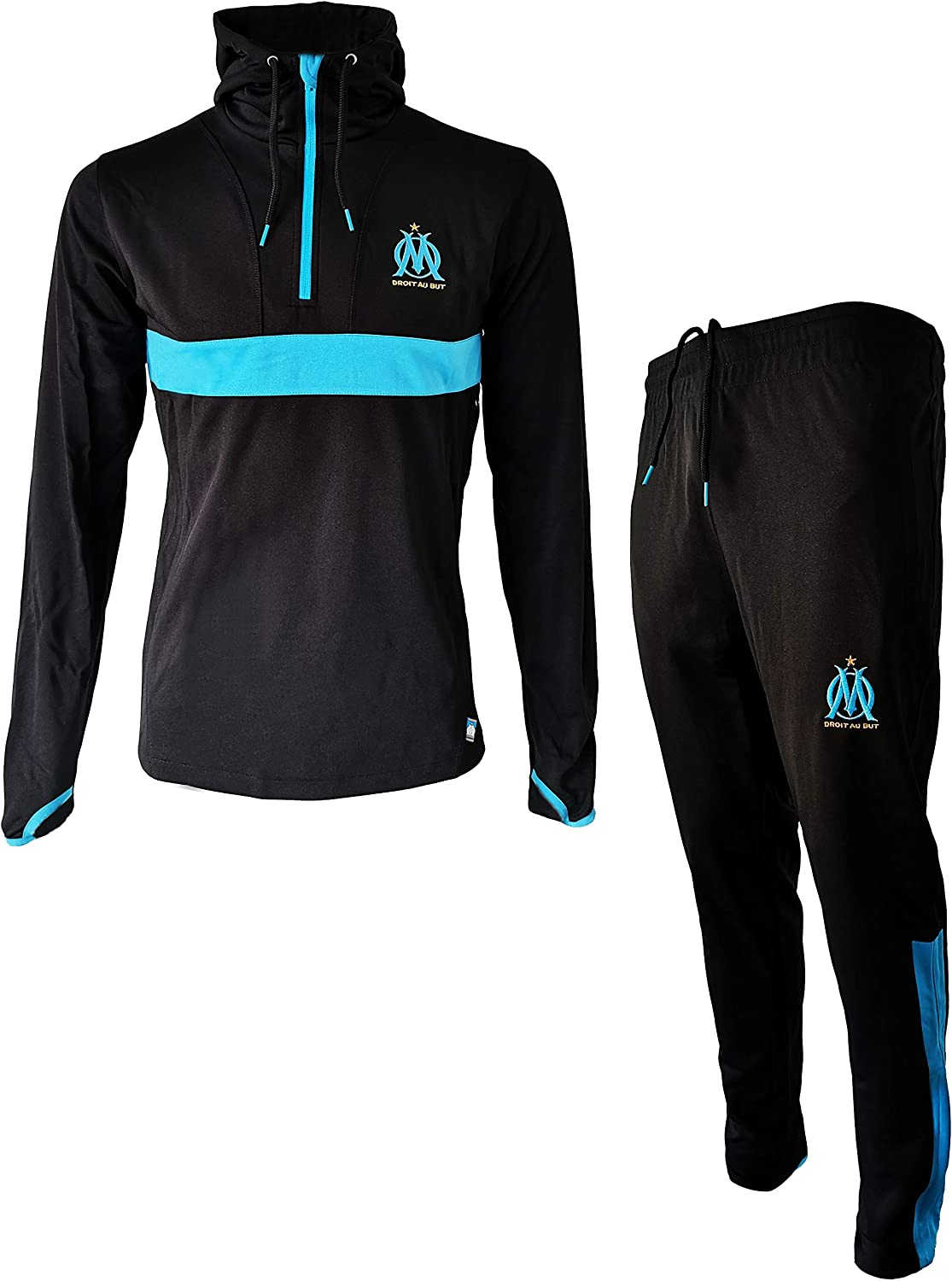 Olympique de Marseille Men/'s OM Tracksuit Official Collection