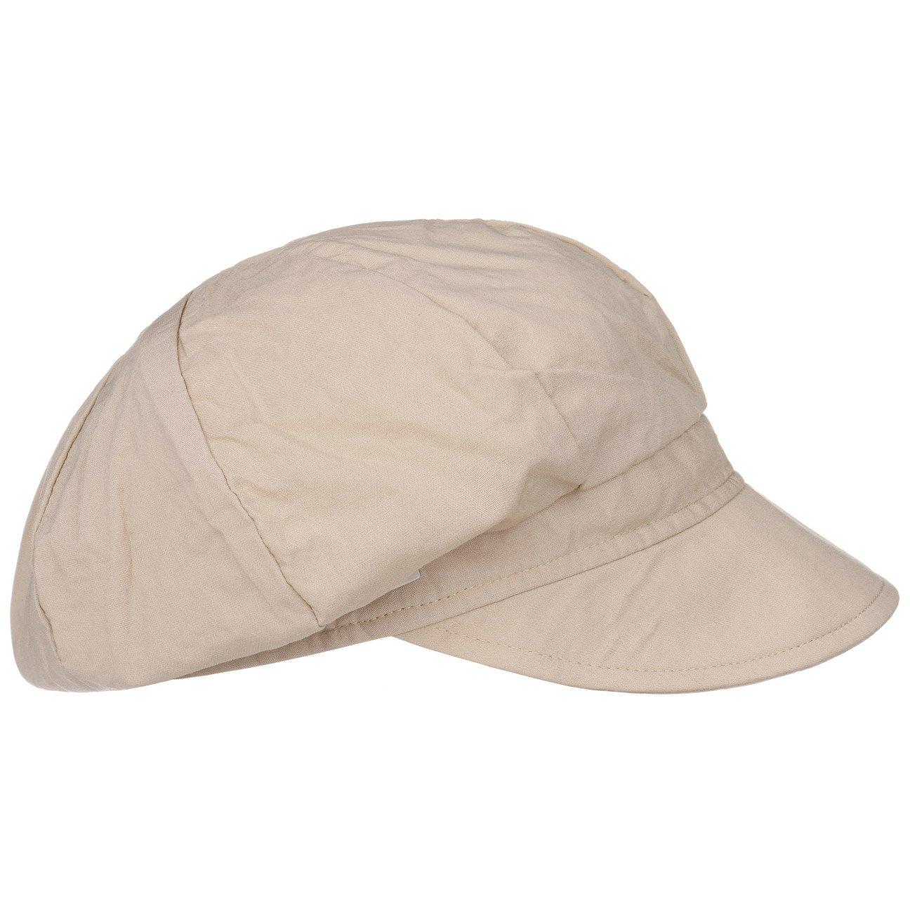 Seeberger Uni Viskose Ballonm/ütze Schirmm/ütze Damencap Sommercap Newsboy-M/ütze Baker Boy Hat Mit Schirm