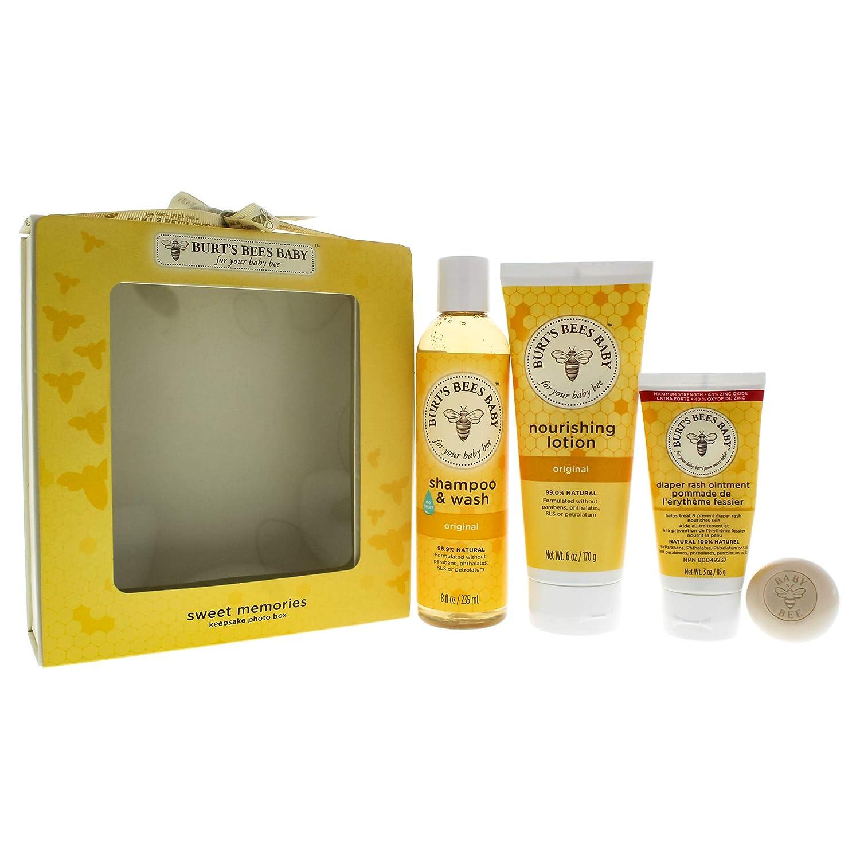 ★大人気商品★ Burts Vary) Bees May Baby Sweet Memories Burt's Keepsake Photo Box (Packaging May Vary) by Burt's Bees B00LM58A3Q, アンティーク雑貨 CHEERFUL:d4422ce5 --- narvafouette.eu
