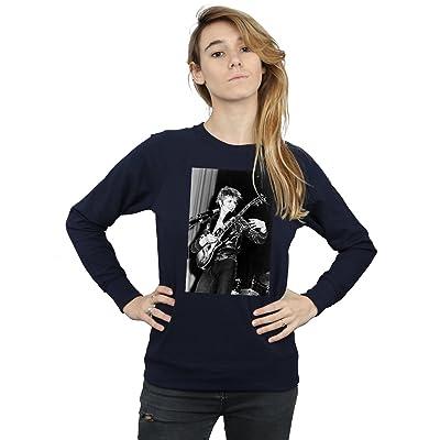David Bowie Femme Smiling Guitar Sweat-Shirt