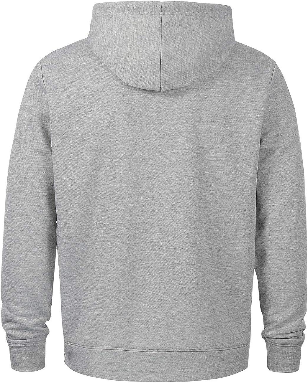 ZIOLOMA Mens Lightweight Full Zip Up Hoodie Hooded Active Sweatshirt