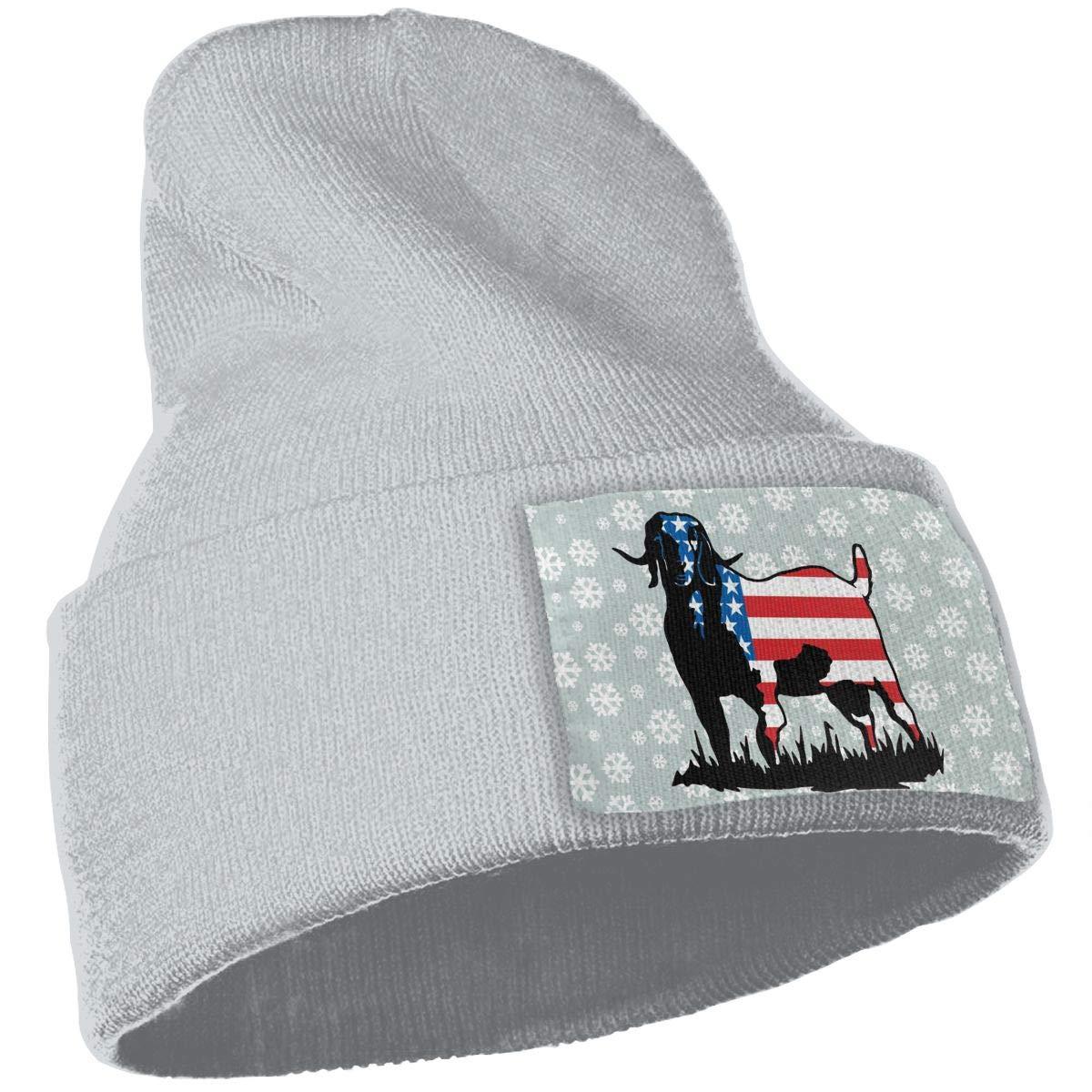 TAOMAP89 Colorrado Boer Goat Flag Men /& Women Skull Caps Winter Warm Stretchy Knitting Beanie Hats