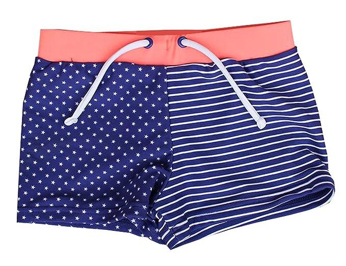 d35d66bfba eKooBee Newborn Infant Baby Boys Swim Trunks All Over Printed Swimwear  Short (0-3Month
