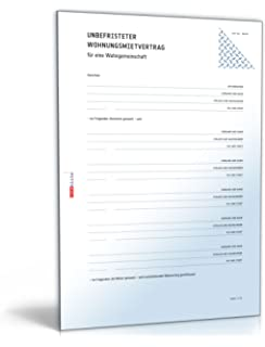 Mietvertrag Wohngemeinschaft [Word Dokument] [Download]: Amazon.de ...