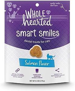 WholeHearted Smart Smiles Salmon Flavor Cat Dental Treats, 6.3 oz.