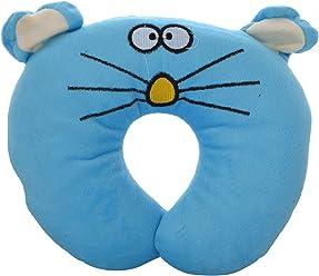 f7fdbaa4468 N M U Shape Feeding   Nursing Baby Neck Pillow - Blue Mouse