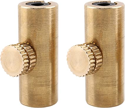 BQLZR Golden Brass Adjustable Cello Wolf Tone Eliminator Wolf Tone Mute Suppressor Tube Eliminate Wolf Tone