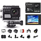 """SJCAM Legend SJ6 Action Camera with 2"""" Dual LCD Touch Screen, 1080p Resolution, Black"""