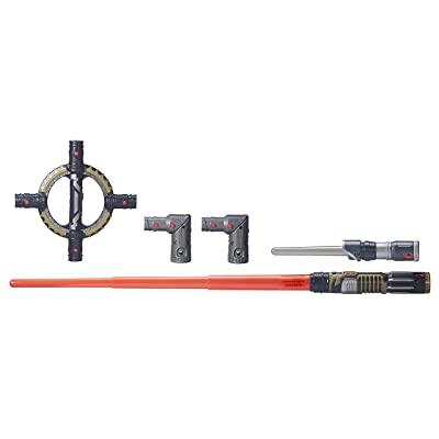 Star Wars BladeBuilders Spin-Action Lightsaber: Toys & Games