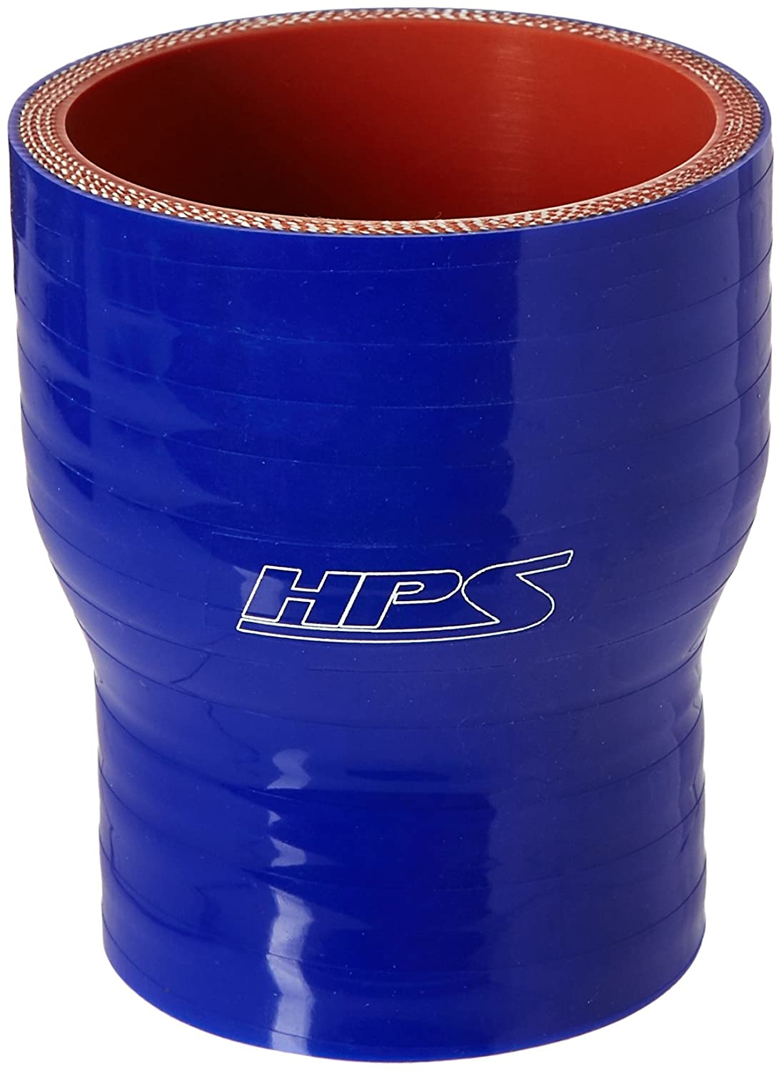 HPS HTSR-175-225-BLUE Silicone High Temperature 4-ply Reinforced Reducer Coupler Hose 80 PSI Maximum Pressure 3 Length Blue 1-3//4  2-1//4 ID
