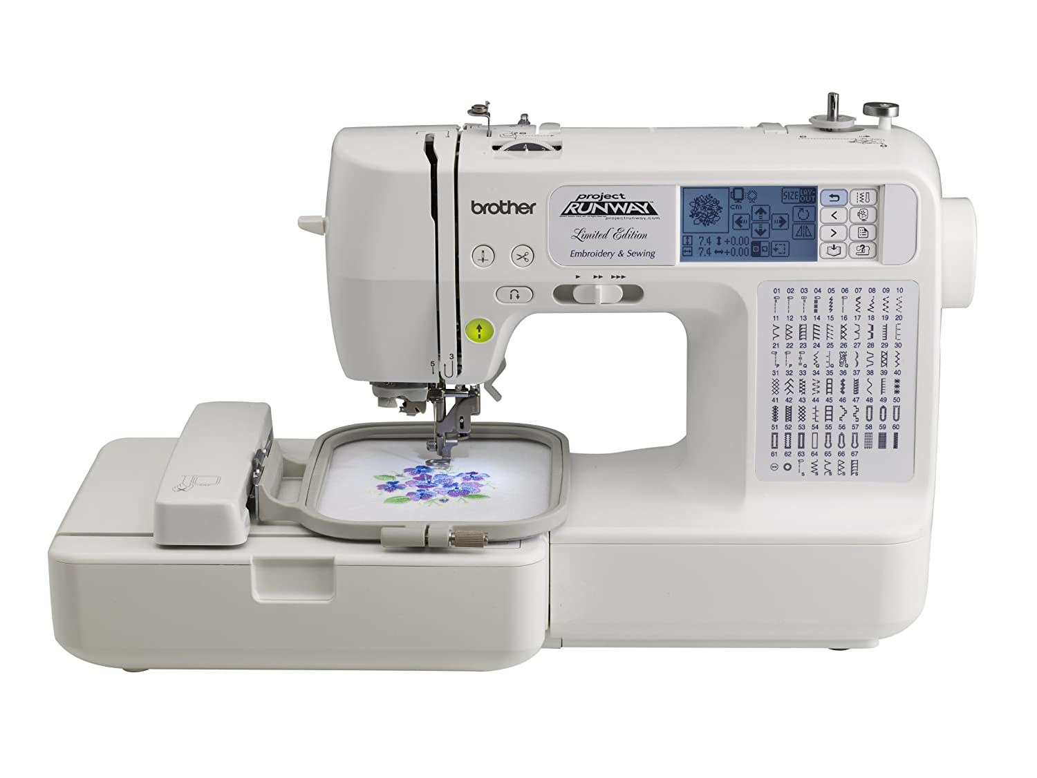Image result for Brother LP6800 Sewing and Embroidery Machine, Project Runway Edition