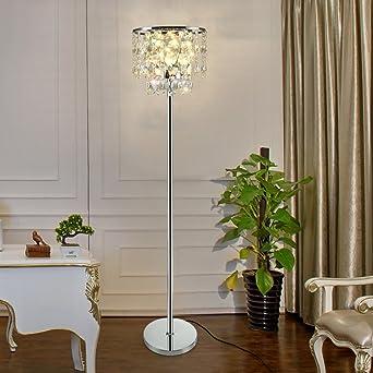 Stehleuchte Einfache Moderne Schlafzimmer Kreative Moderne Luxus Kristall  Wohnzimmer Stehlampe A+