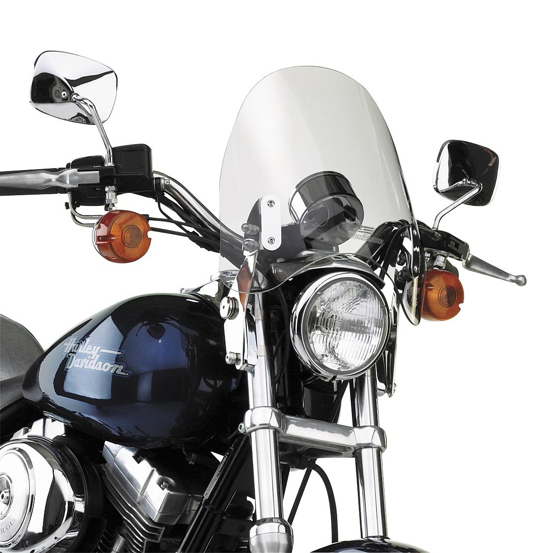 National Cycle SwitchBlade Deflector Windshield For Various Metric Motorcycles (See Specifications) - Clear - N21903 4333345399