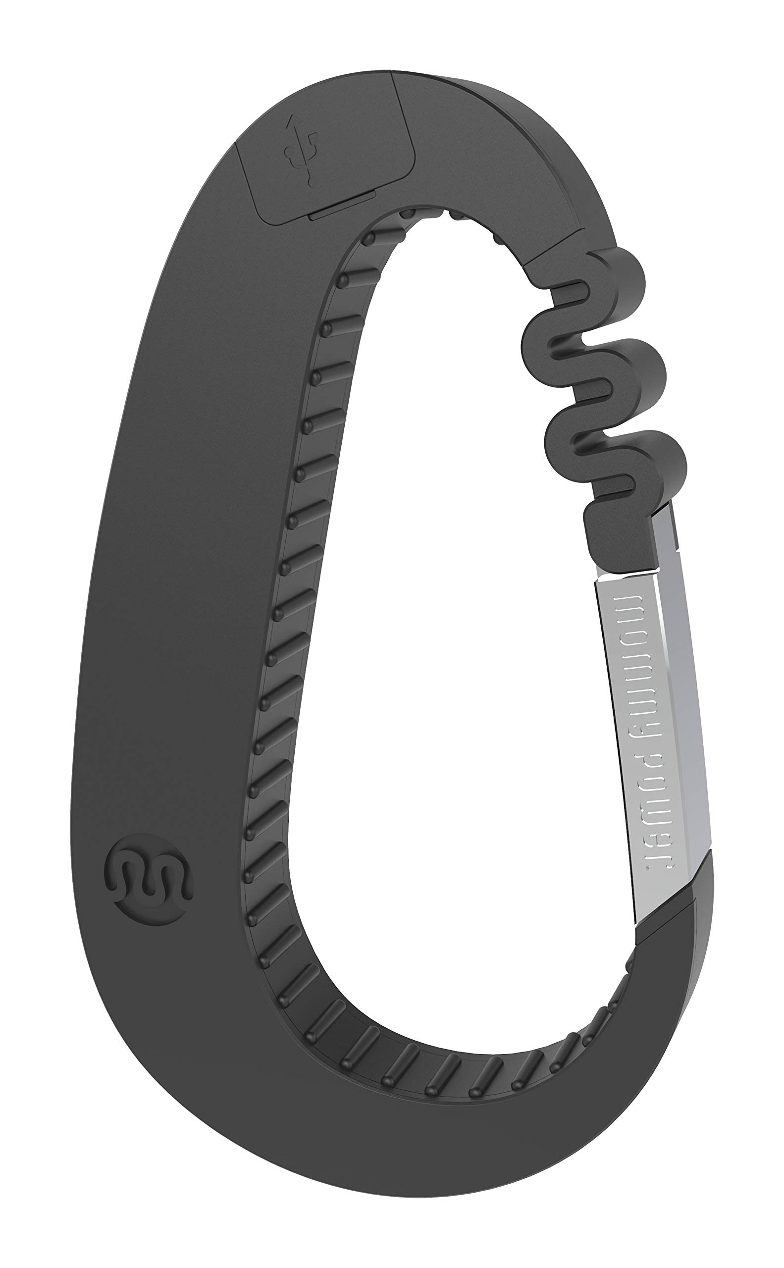 Mommy Power Stroller Power Stroller Hook & Power Bank - Carry-All Hook for The mom on The Go (Midnight Black) by Mommy power