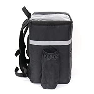 TheBiker Food Delivery Backpack, Reusable Thermal Bag, Delivery Bag, Hot and Cold Food.