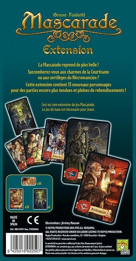 Asmodee - Juego de Mesa Mascarade: Amazon.es: Juguetes y juegos